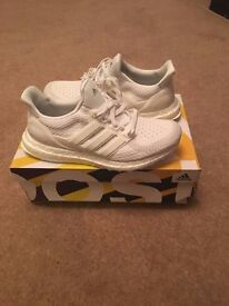 adidas Ultra Boost 2.0 White UK7 UK7.5 Brand New Yeezy