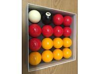 New Pool ball set