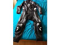 RICHA ATTACK 1 PIECE LEATHER SUIT SIZE 46... Like NEW ..Cash or SWAP