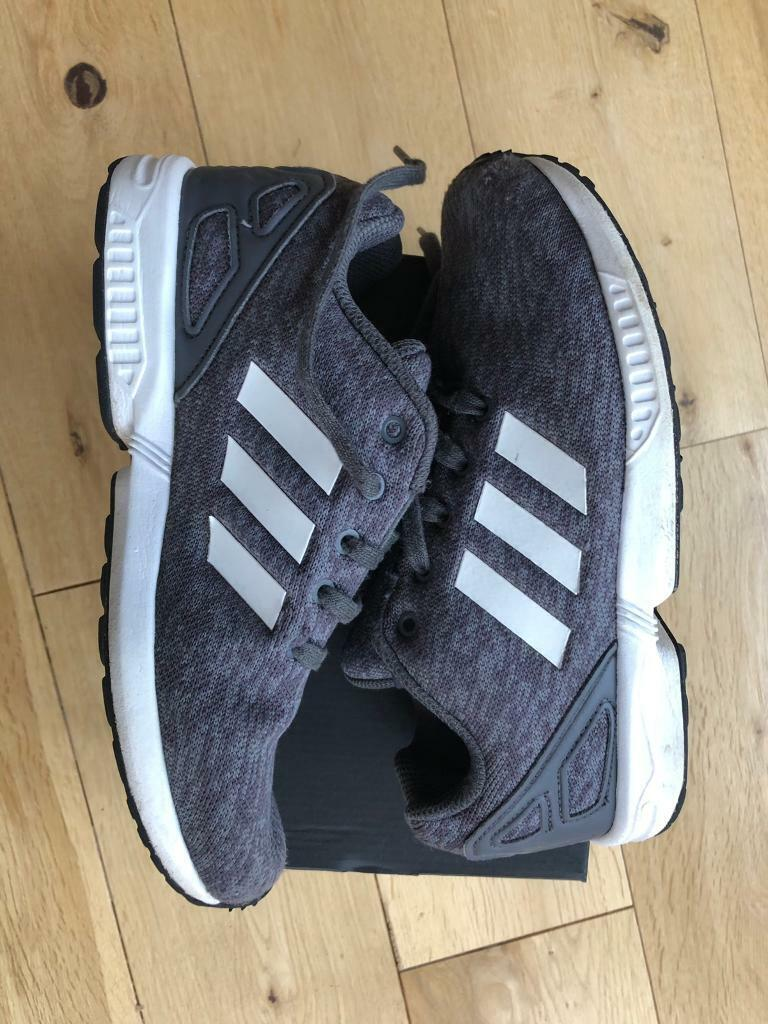 Boys Adidas ZX Flux Torsion Trainers size 2 | in Bramley, South Yorkshire | Gumtree