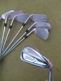 New Titleist AP1 718 Irons