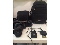 Canon EOS 5D Mark II with 24-105mm Lens and Camera Bag