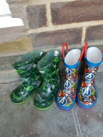 Size 5 boys wellies for sale