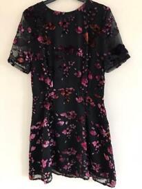 Stunning embroidery vintage dress