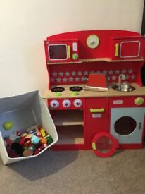 Wooden kitchen plus many extras