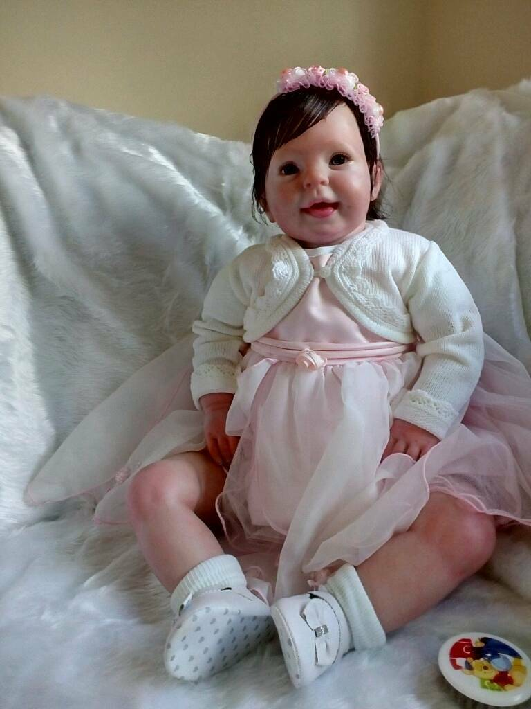 Reborn Toddler Chunky Baby size of 6/9 month old from ...