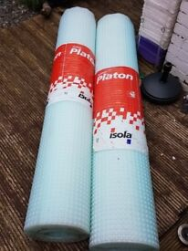 Platon Waterproofing Membrane - 2 new rolls