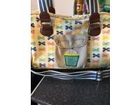 Yummy mummy nappy bag- please read full description