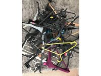 Loads of mixed hangers adult and child
