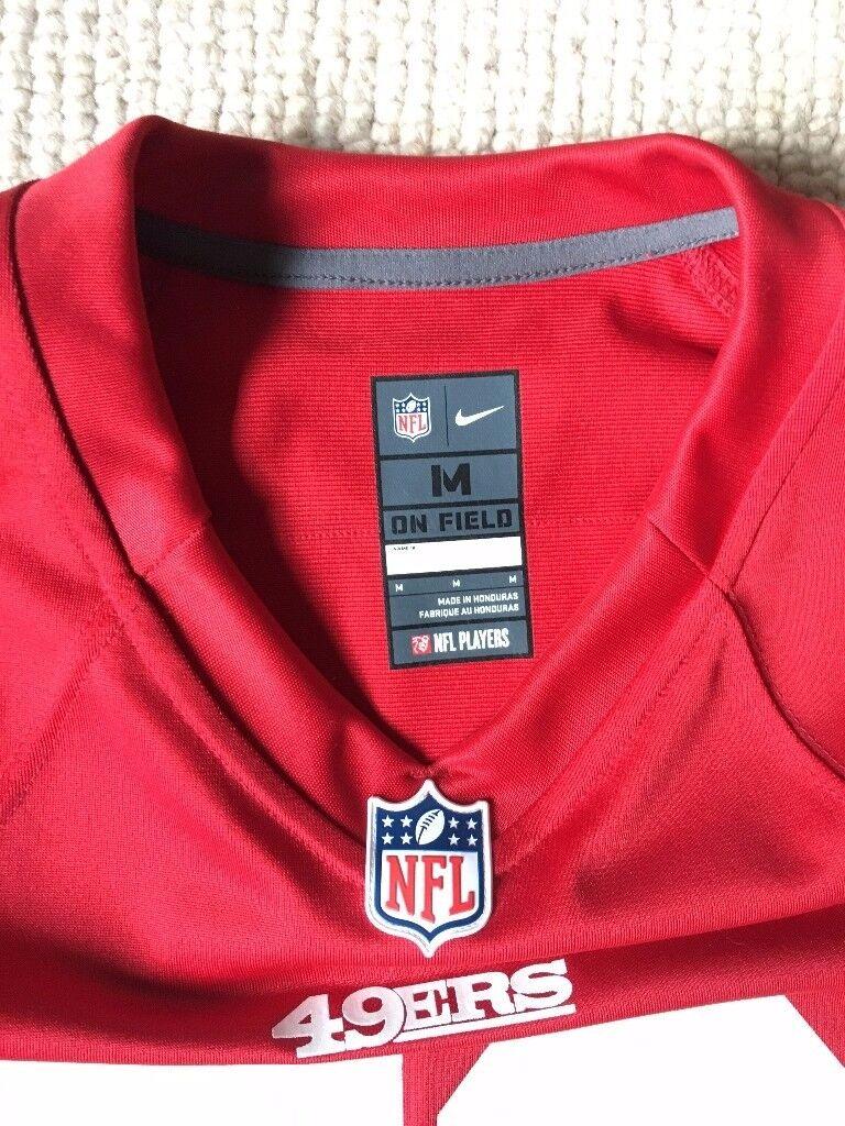 ... Mens San Francisco 49ers Patrick Willis Nike Scarlet Game Jersey - Size  Medium ... d1da7943e