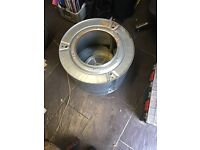 Washing machine and tumble dryer drums