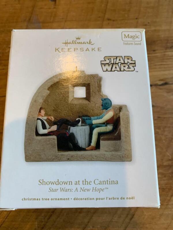 Hallmark Keepsake Ornament Showdown at the Cantina Star Wars A New Hope 2011