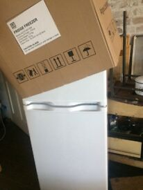Argos fridge freezer *AS NEW IN BOX USED FOR 3 days only on photo shoot*
