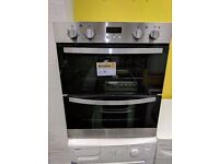 New Graded Zanussi 'Built-under' Double Oven (12 Month Warranty)