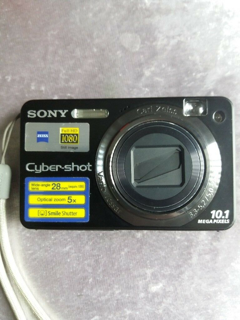 Sony Cybershot Digital Camera With 10 Megapixelsmany Modes On Working Of Cameras Perfect