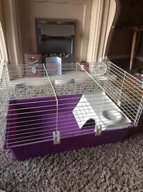 Medium sized hamster guinea pig cage