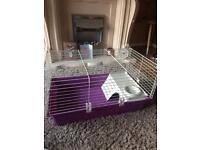 Medium sized hamster guinea pig cage