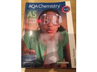 AQA AS-Level chemistry revision guide.