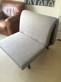Ikea Single Bed Futon with Mattress