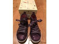 Startrite shoes - purple sparkle - size 8 EUR 25.5