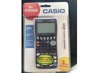 Casio graphical calculator