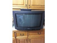 TV Sony Trintron and Remote Control all good working condition