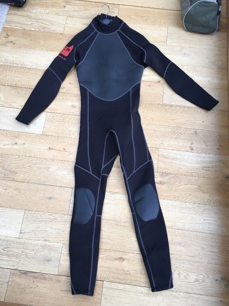 Wetsuits and boots