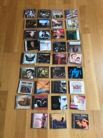 Job lot 35 music CDs mainly collections classic pop rock mellow MoR 70s 80s to modern