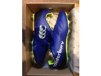 New men's canterbury rugby boots size 9