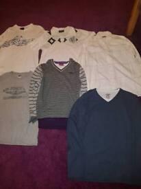 Bundle of mens clothes size L