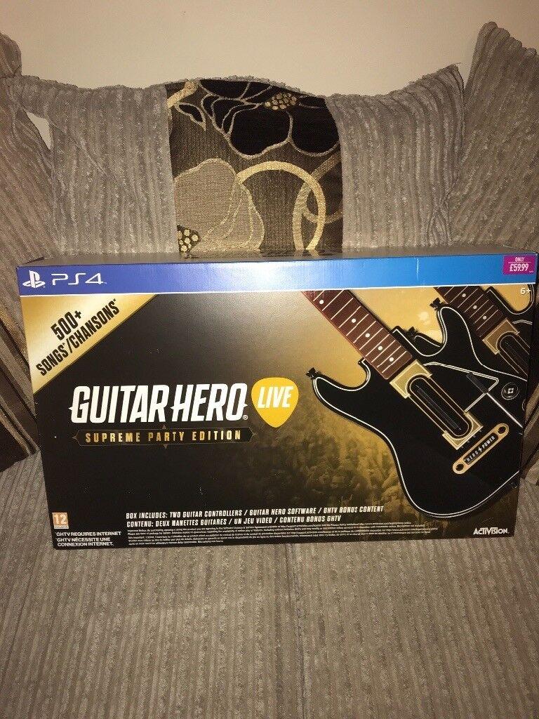 Guitar hero live supreme party edition