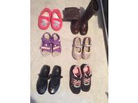 Bundle of size 11/11.5 girls shoes