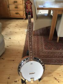 Gretsch Resonator Banjo with Hard Case