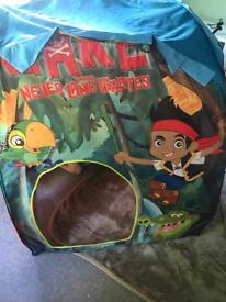 Jake and the never land pirate pop up tent