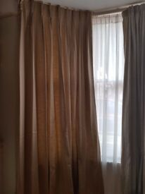 BRAND NEW Made to Measure Pinch Pleated Curtains L270cm x W90cm