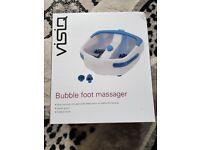 VISIQ BUBBLE FOOT MASSAGER - £10 ONO