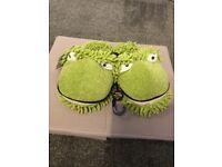 Brand new frog slippers