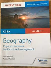 CCEA Geography A2 Unit 1&2 Revision Guides