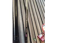 2X match/float rods 12ft