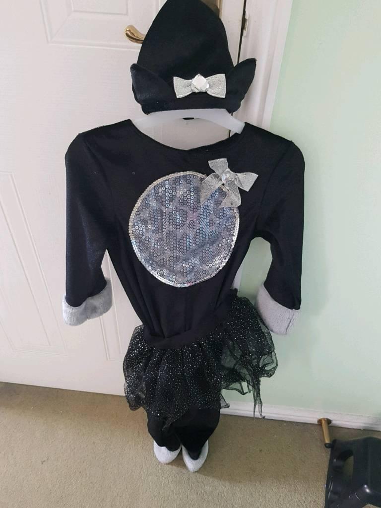 black cat halloween costume 5-6 years | in newcastle, tyne and wear