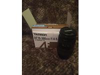 Tamron AF 70 - 300 mm lens for Nikon