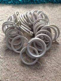 Curtian Rings - NEW - Dunelm Mill