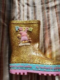 Peppa pig boots
