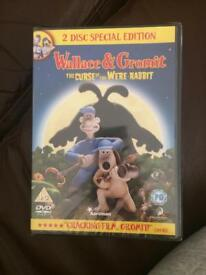 Wallace and Gromit DVD 50p