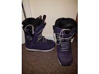 Salomon Ivy Womens Snowboard Boots Size 6