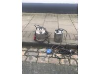 x2 Water Pumps - Almost Brand New so in Excellent condition - £40 Best Offer for each/£70 for both