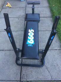 York Weights Bench gym equipment