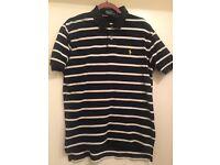 3x tshirts 1xlacoste L 2x Ralph Lauren med & Large Airdrie £30