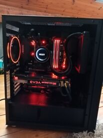 Ryzen 5 1600x gtx 1080 gaming pc