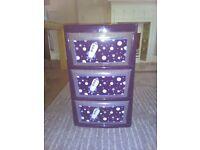 kids storage drawers